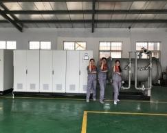 化工废水臭氧发生器团队风采